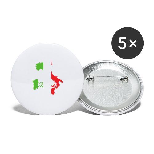 Tedeschi italie - Lot de 5 grands badges (56 mm)