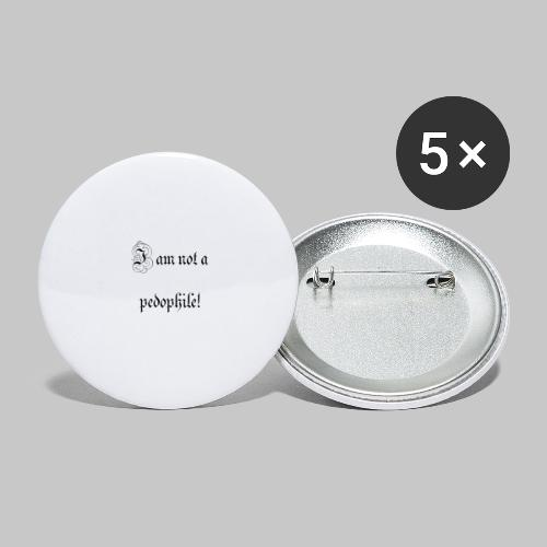 i just want people to know - Buttons large 2.2''/56 mm(5-pack)
