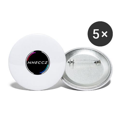 NHECCZ Logo Collection - Buttons large 2.2''/56 mm(5-pack)