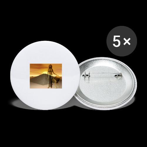 FANTASY 1 - Buttons groß 56 mm (5er Pack)