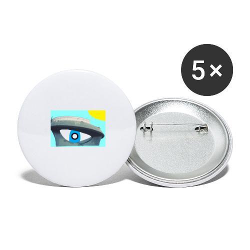 fantasimm 2 - Confezione da 5 spille grandi (56 mm)