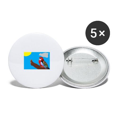 fantasimm 3 - Confezione da 5 spille grandi (56 mm)