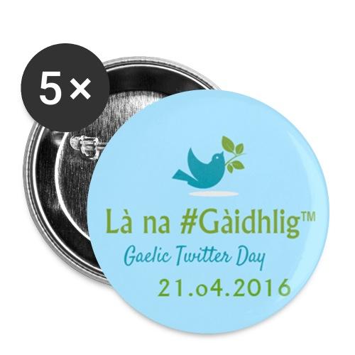 Là na #Gàidhlig 2016 - Buttons large 2.2''/56 mm(5-pack)