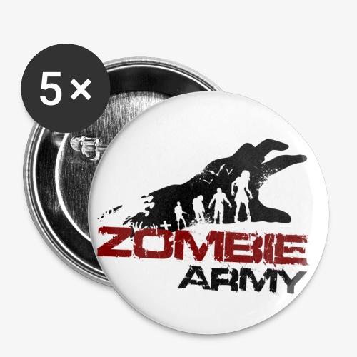 ZA transparent - Buttons groß 56 mm (5er Pack)