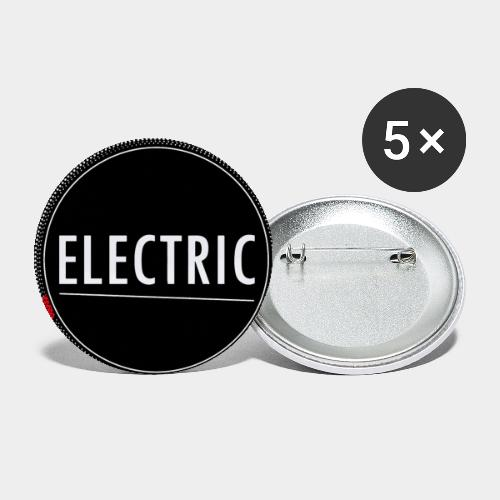 Electric (red light) - Buttons groß 56 mm (5er Pack)