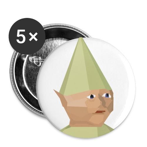 Gnome child - Stor pin 56 mm (5-er pakke)