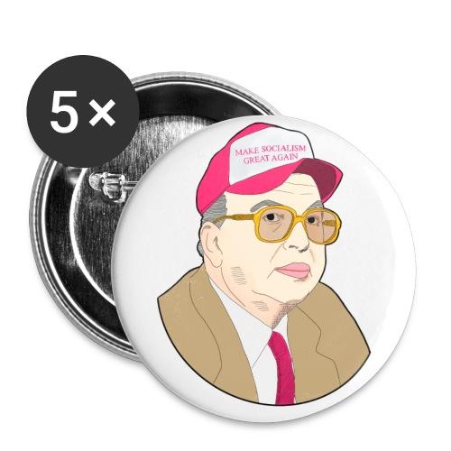 #MakeSocialismGreatAgain - Confezione da 5 spille grandi (56 mm)