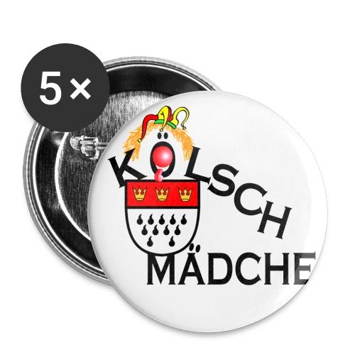 koelschmaedchebutton - Buttons groot 56 mm (5-pack)
