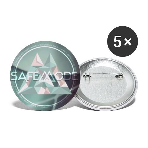 Safemode - Make A Difference Tour - Pins - Buttons large 2.2''/56 mm(5-pack)