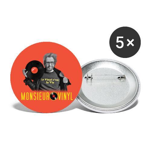 Badges Photo (Edition Exclusive) - Lot de 5 grands badges (56 mm)