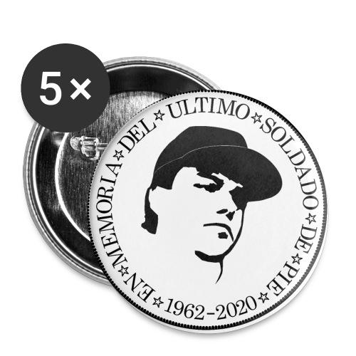 Kopfversation - Buttons groß 56 mm (5er Pack)