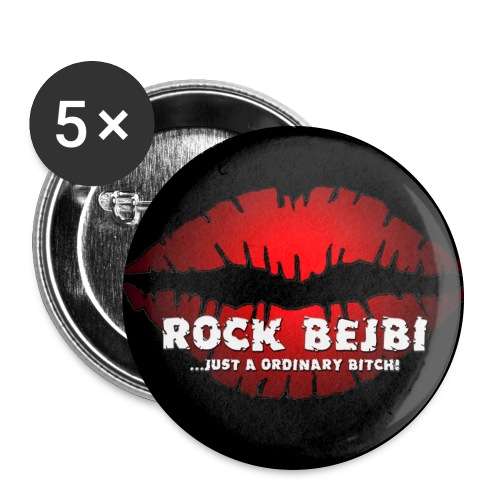 bigblcklips - Buttons large 2.2''/56 mm(5-pack)