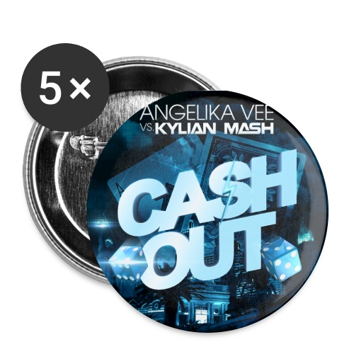 Cash Out Cover - Buttons large 2.2''/56 mm (5-pack)