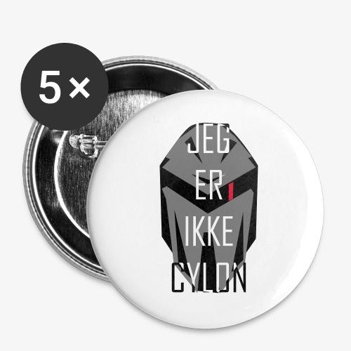 Jeg er ikke Cylon - Stor pin 56 mm (5-er pakke)