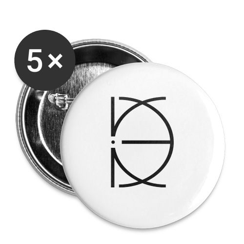 CRONE WHITE - Buttons groß 56 mm