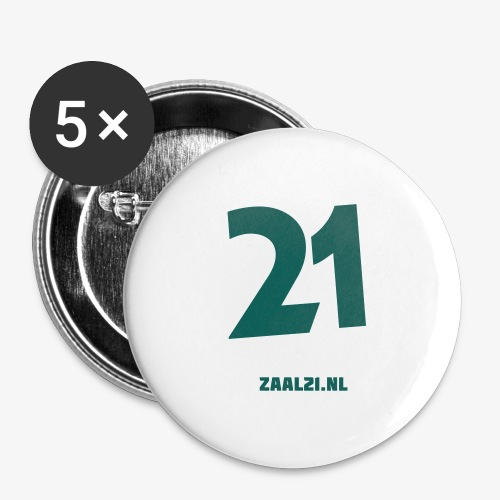 zaal-achterkant - Buttons groot 56 mm (5-pack)