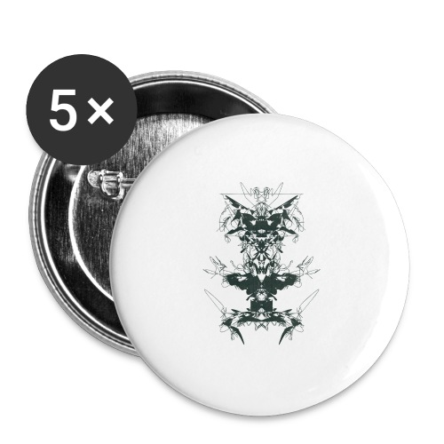 Magnoliids - Buttons large 2.2''/56 mm(5-pack)