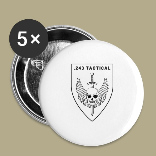 Club Logo - Buttons groot 56 mm (5-pack)
