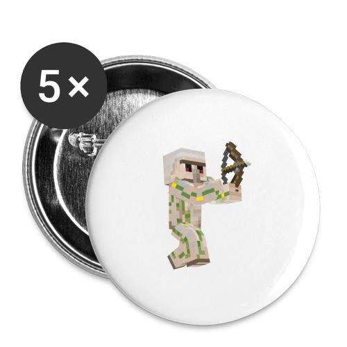 Bow Shooter - Stora knappar 56 mm (5-pack)