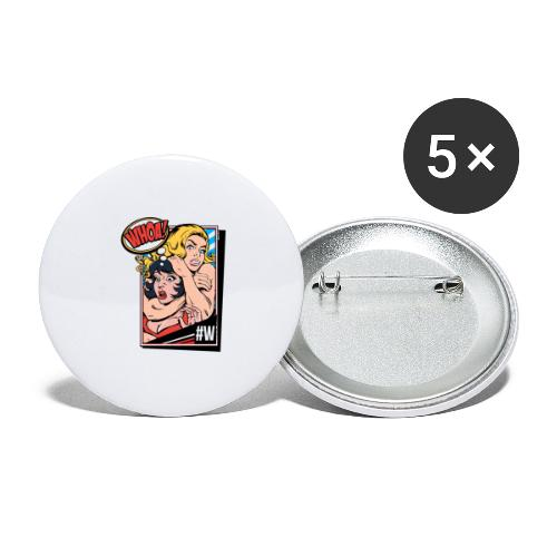 WHOATV OFFICIAL - Buttons large 2.2''/56 mm(5-pack)