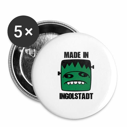 Fonster made in Ingolstadt - Buttons groß 56 mm (5er Pack)