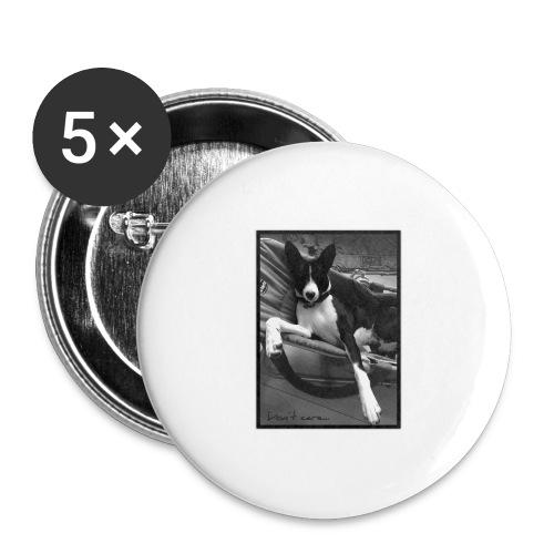 whatever - Lot de 5 grands badges (56 mm)