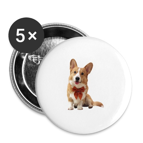 Bowtie Topi - Buttons large 2.2''/56 mm(5-pack)