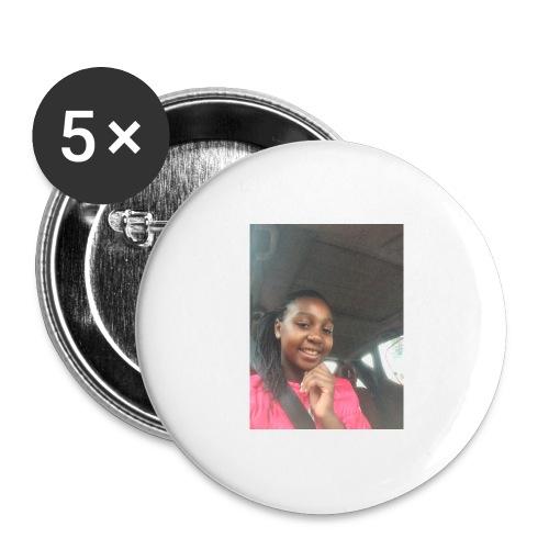 tee shirt personnalser par moi LeaFashonIndustri - Lot de 5 grands badges (56 mm)