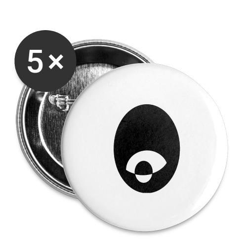 oeildx - Lot de 5 grands badges (56 mm)