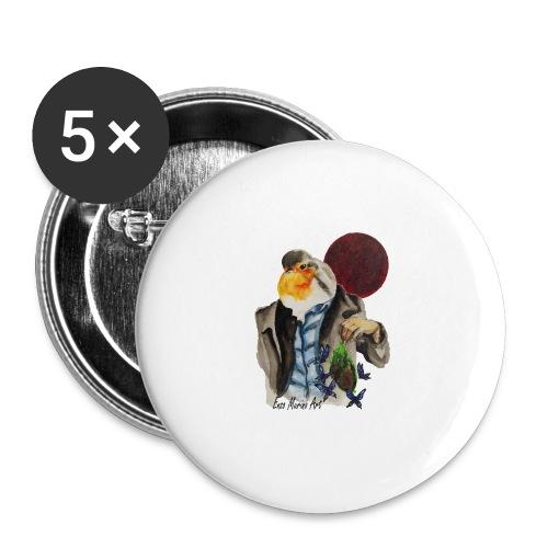 Forgive and Forget - Lot de 5 grands badges (56 mm)