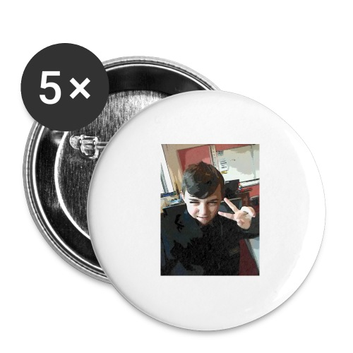 Aaron - Buttons large 2.2''/56 mm(5-pack)