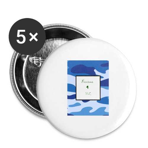 My channel - Buttons large 2.2''/56 mm(5-pack)