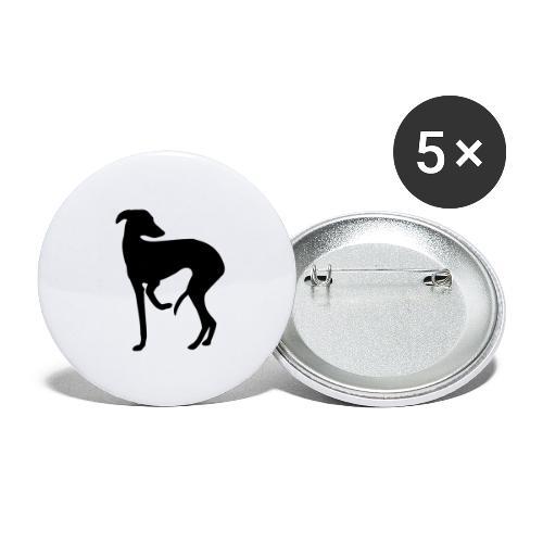 Windspiel - Buttons groß 56 mm (5er Pack)