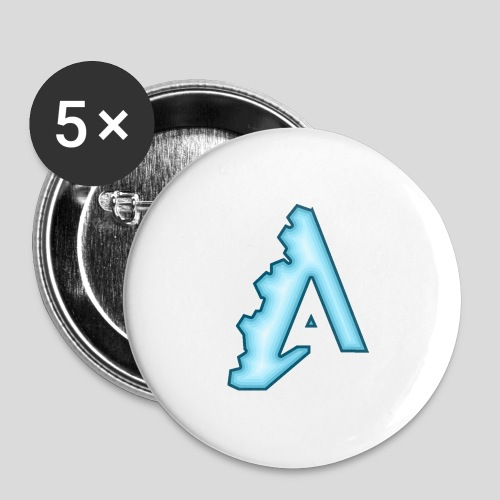 AttiS - Buttons large 2.2''/56 mm(5-pack)