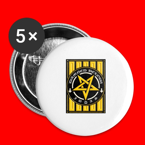 Damned - Buttons large 2.2''/56 mm(5-pack)