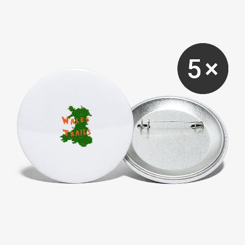 Wales Trails - Buttons large 2.2''/56 mm (5-pack)