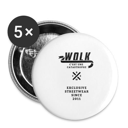 varsityx04 - Buttons groot 56 mm (5-pack)