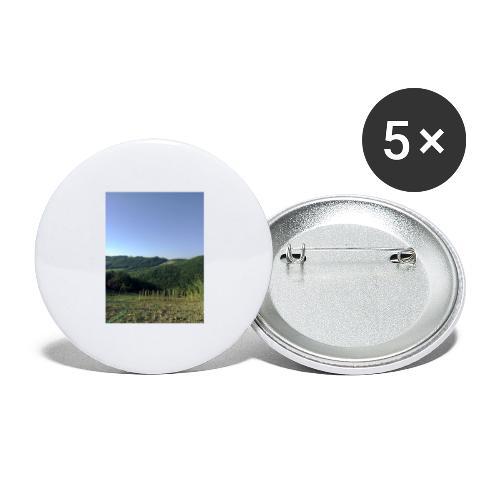 Panorama - Confezione da 5 spille grandi (56 mm)