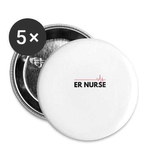 Er nurse - Confezione da 5 spille grandi (56 mm)