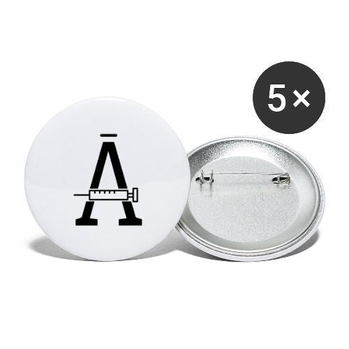 PiriTorin Ässä - Rintamerkit isot 56 mm (5kpl pakkauksessa)
