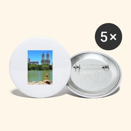 Dipinto americano - Confezione da 5 spille grandi (56 mm)