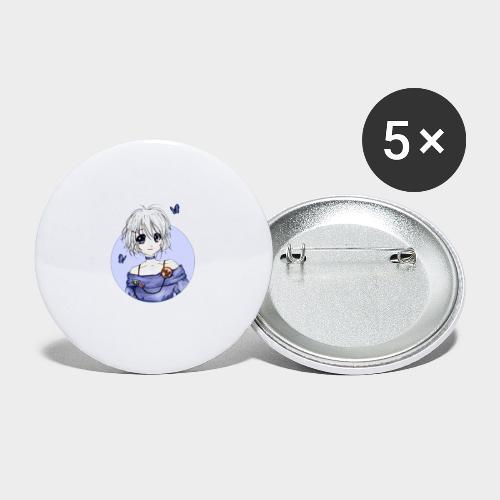 Geneworld - Sakura - Lot de 5 grands badges (56 mm)