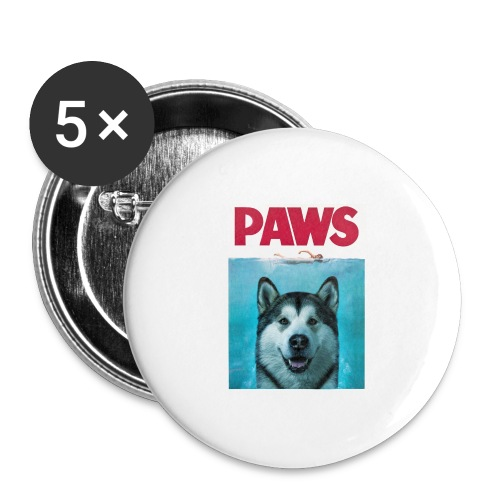 paws 2 - Buttons large 2.2''/56 mm(5-pack)