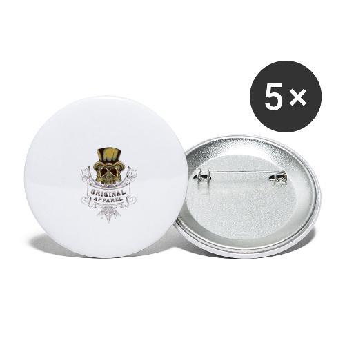 Original Apparel - Stora knappar 56 mm (5-pack)