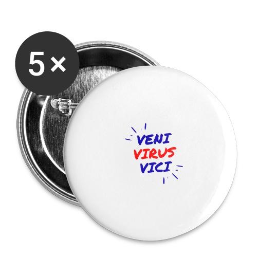 Veni - Confezione da 5 spille grandi (56 mm)