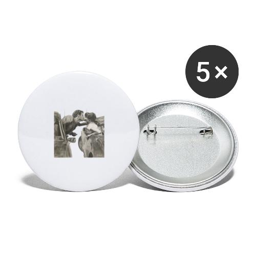 Travel - Paquete de 5 chapas grandes (56 mm)