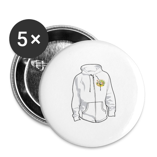 hoodyfront - Buttons groot 56 mm (5-pack)
