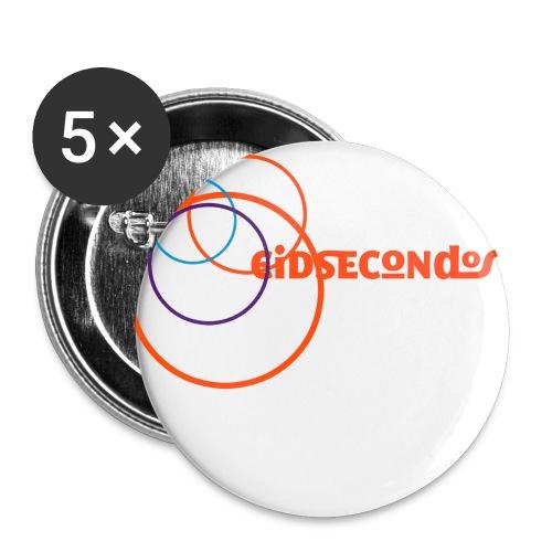Eidsecondos better diversity - Buttons groß 56 mm (5er Pack)
