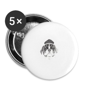 Boxer with cap - Buttons/Badges stor, 56 mm