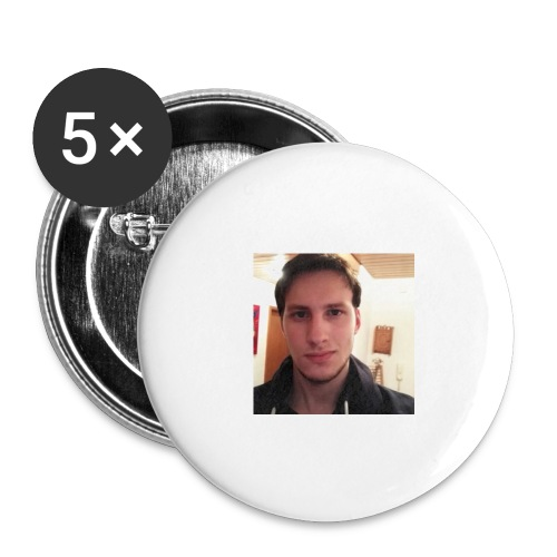 Güffel - Buttons groß 56 mm (5er Pack)